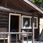 Outside Cabin 6