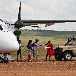 Sarova Mara Air strip pick up