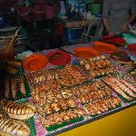 Deleicou seafood at the night markets Kota Kinabalu
