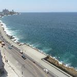 View from the room - The Malecón