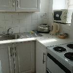 Tiny but bright & functional kitchen