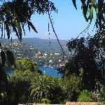 vue de la terrasse de notre appartement