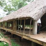Long House Accomodation at resort - not yet finished