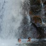 This trip to Glen Ellis falls to cool off suggested by Inn keepers-great!