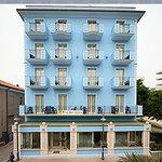 Hotel Nizza dall'esterno