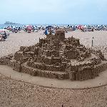 Sand sculpture-Levante beach