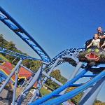 The Cobra Roller Coaster at Paultons