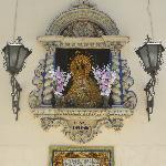 Altar en una calle de Sevilla