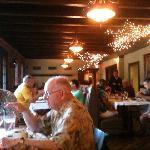Hall's main dining room
