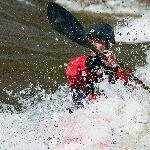 Surfing in the Arkansas River