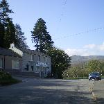 Another view of the main street in Rowen from bus stop