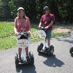 Segwaying our way around the National Park!