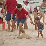 Competición en la Playa