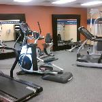 Adequate fitness center.