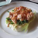 Lobster iceberg salad