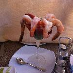 Shrimp Cocktail at Beach Club Restaurant