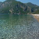 olympos beach from Cirali side