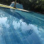 Personne dans la piscine