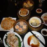 Scallion Pancake & others dim sum