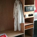 Bath Robes, Sandals, Safe in Room,