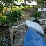 The inn is a stone's throw from relaxation and recreation on the lake.