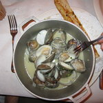 my husband said the clams were exquisite!!