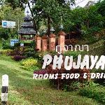 Phu Jaya Road Sign