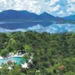 Amaya Lake Arial view