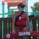 lifeguards doin their jobs