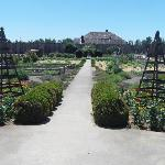 Fort Vancouver gardens