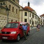 We use late model, 8 passenger minibuses