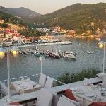View of Parga Harbour/Town
