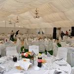 Events tent with all facilities