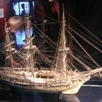 hand made by french napoleonic prisoners-ship of the line