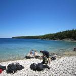 One of Tobermory's Beaches