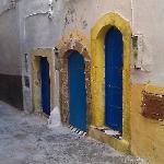 Doors close to the Ryad.