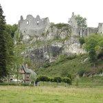 Les ruines du Chateau Fort de Montaigle