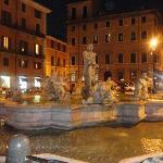 Piazza Navona alrededores del Hotel