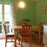 Essplatz in der Küche - FEWO Linde