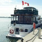 the Boatel moored in Toronto's Harbourfront