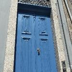 Behind the blue door...