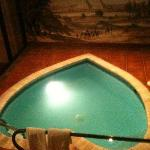 The pool in our room
