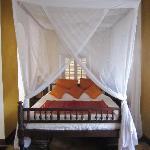 bedroom in prestige suite