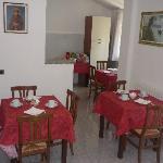 Sala colazioni- Breakfast room