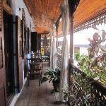 balcony of belle room