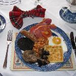 Our hearty full Scottish breakfast