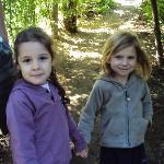 Mi hija Dasha y Ronja (hija de la familia)