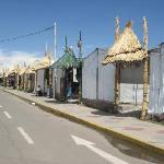 El mercado de artesanias del puerto