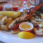 Fire Grilled lobster