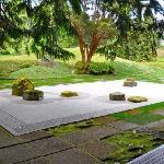 The Zen garden.